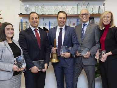 Peter Blackshaw Wins Big at Industry Awards